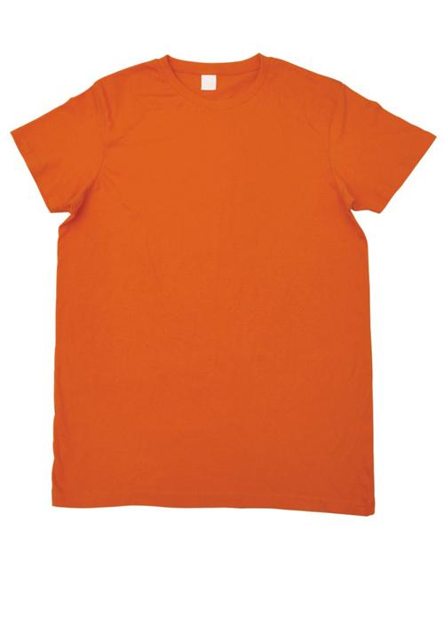 圆领长袖空白纯色文化衫