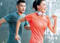 休闲运动服套装女夏2017新款韩版薄款运动T恤